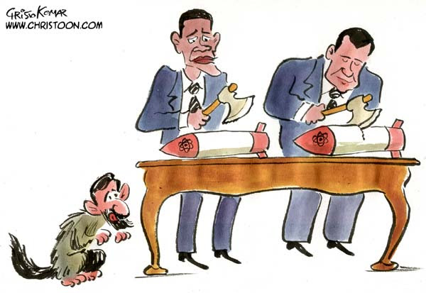Cartoon by Christo Komarnitski