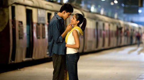 Dev Patel and Freida Pinto in the 2009 Best Picture winner, SLUMDOG MILLIONAIRE.
