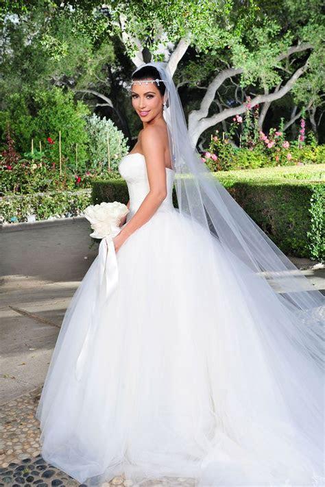 Best 25  Kim Kardashian Wedding Dress ideas on Pinterest