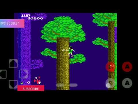 The legend of Kage in Android 300games in 1 vcd the old 1985s hit game