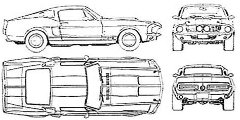 gallery ford mustang  drawing