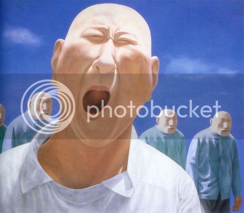 Le rire de Fang Lijun Chine