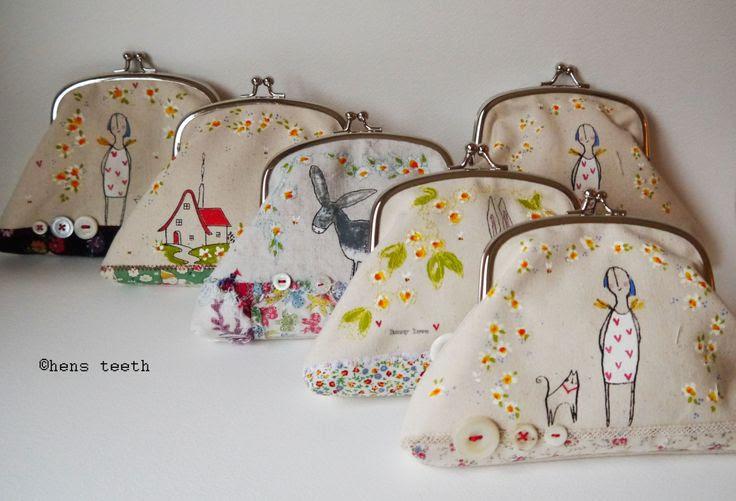 hens teeth purses