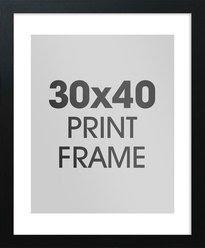 All 30 X 40 Frames