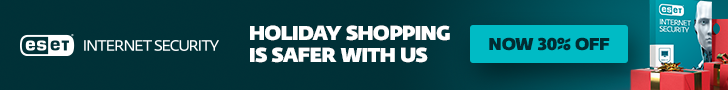 Save 30% with ESET