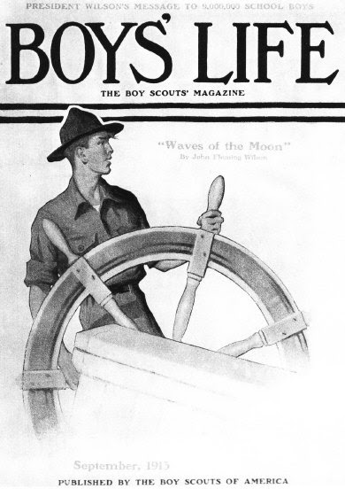 File:Norman Rockwell- Scout at Ships Wheel.jpg