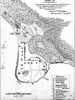 Plan of Seattle 1855-6