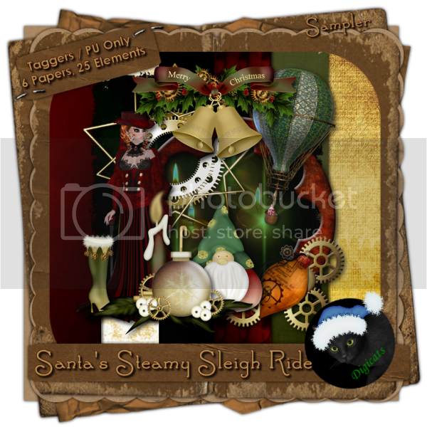 Santa's Steamy Sleigh Ride Sampler