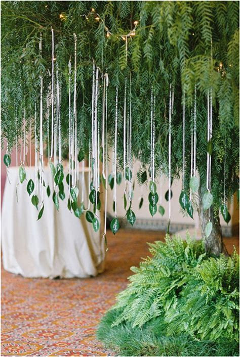11 Creative Ways To Use Greenery In Your Wedding   Tulle