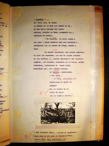 Otra página del cuaderno.