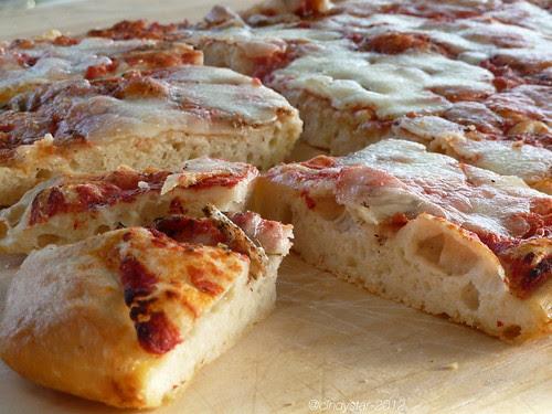pizza senza impasto-no knead pizza