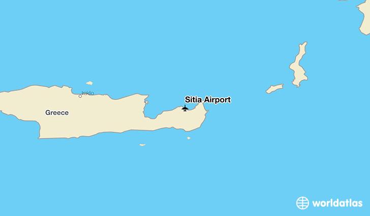 Sitia Airport Jsh Worldatlas