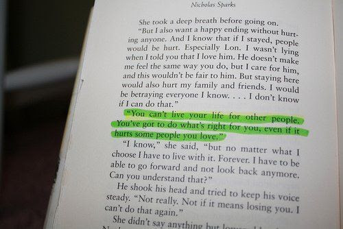 nicholas sparks, quote, quotes, text, thenotebook