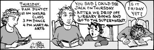 Home Spun comic strip #472