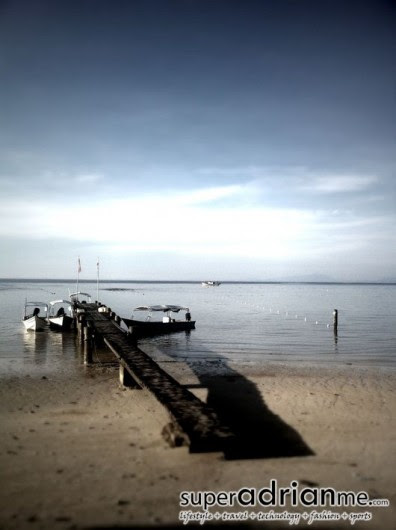 Perhentian Islands wooden jetty