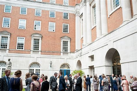 A travel inspired wedding at BMA House in London