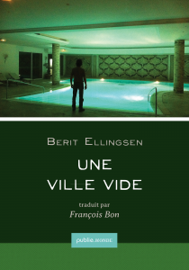 Berit's Novel Empty City (French)