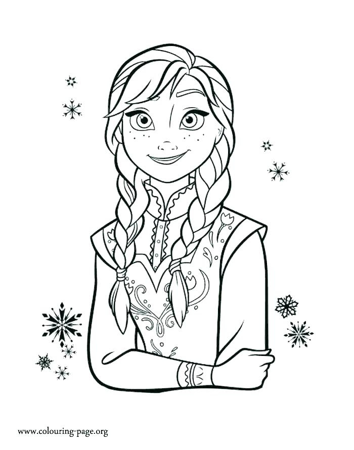 Frozen Elsa And Anna Coloring Pages At Getcoloringscom Free