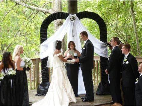 black  white wedding arch   metal sweetheart