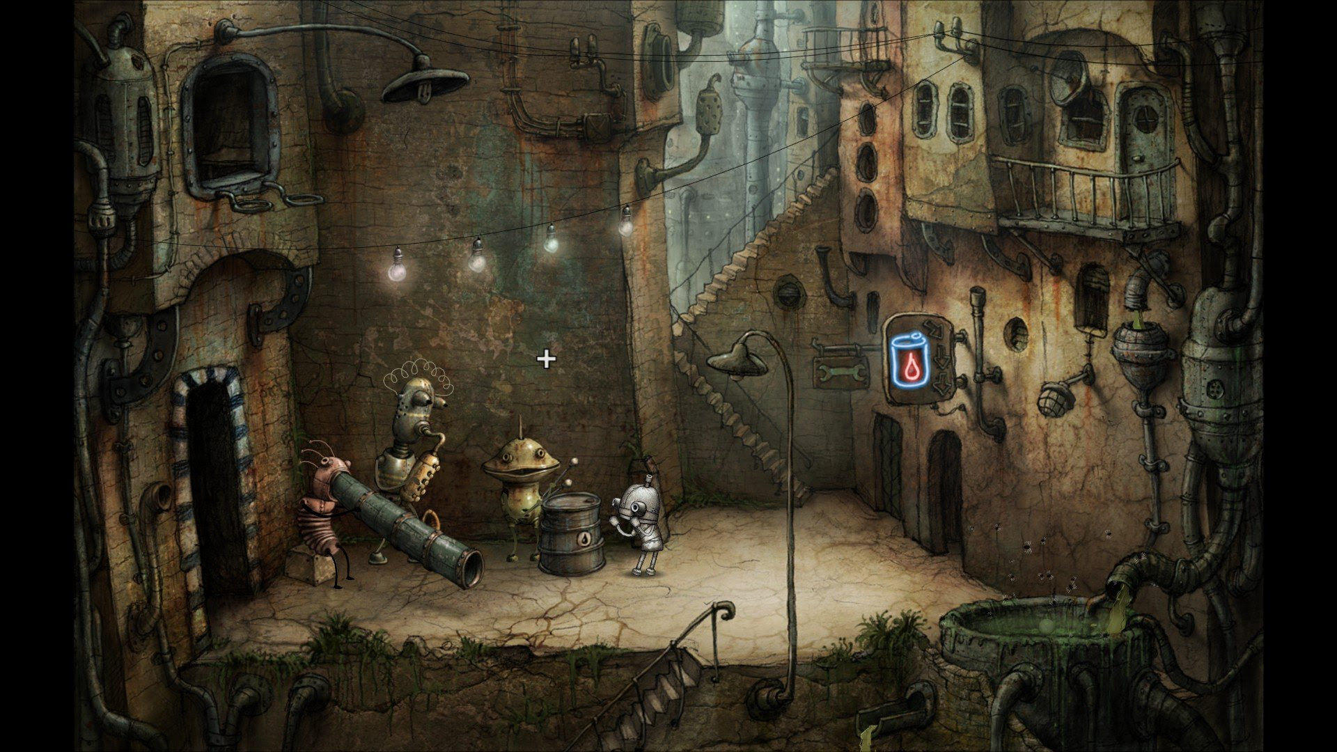 Review: Machinarium (The Definitive Version) screenshot