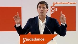 Albert Rivera demana a Pedro Sánchez que no negociï amb els independentistes