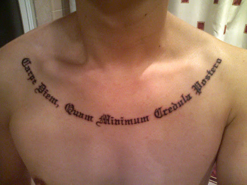 Latin Tattoos Of Faith Quotes Tattoomagz