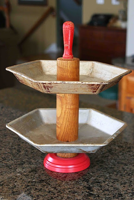 Mamie Jane's: Tiered Pie Plate Stand