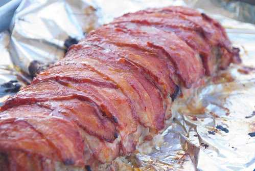 bacon wrapped meatloaf from book, Recipes Every Man Should Know