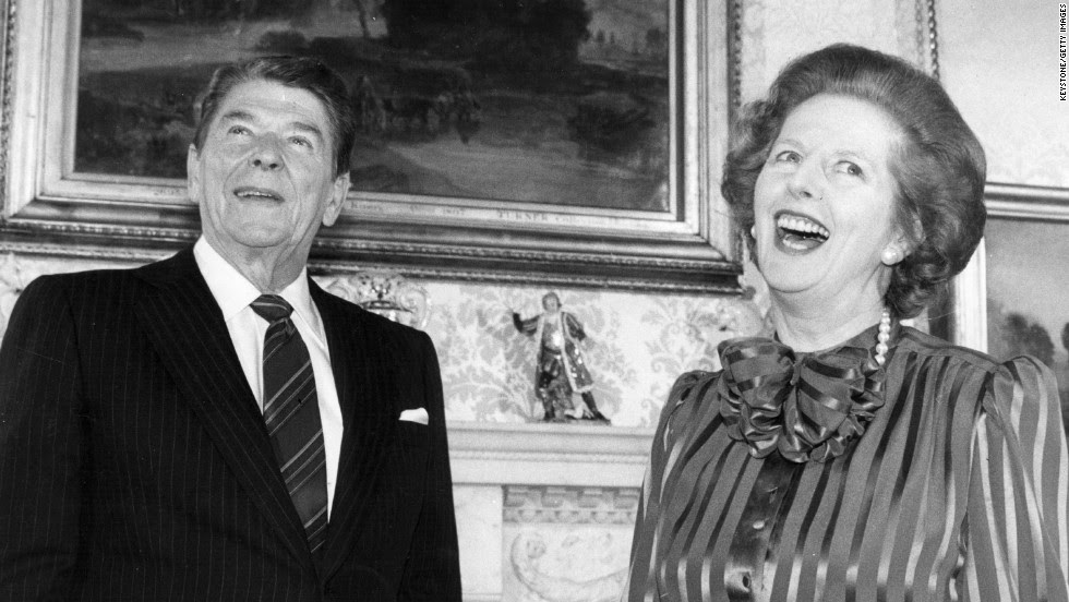 Image result for reagan thatcher