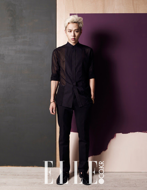 BEAST Jun Hyung - Elle Magazine August Issue '14