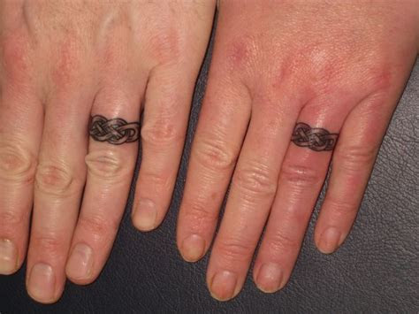 matching celtic wedding rings bands fingers irish street