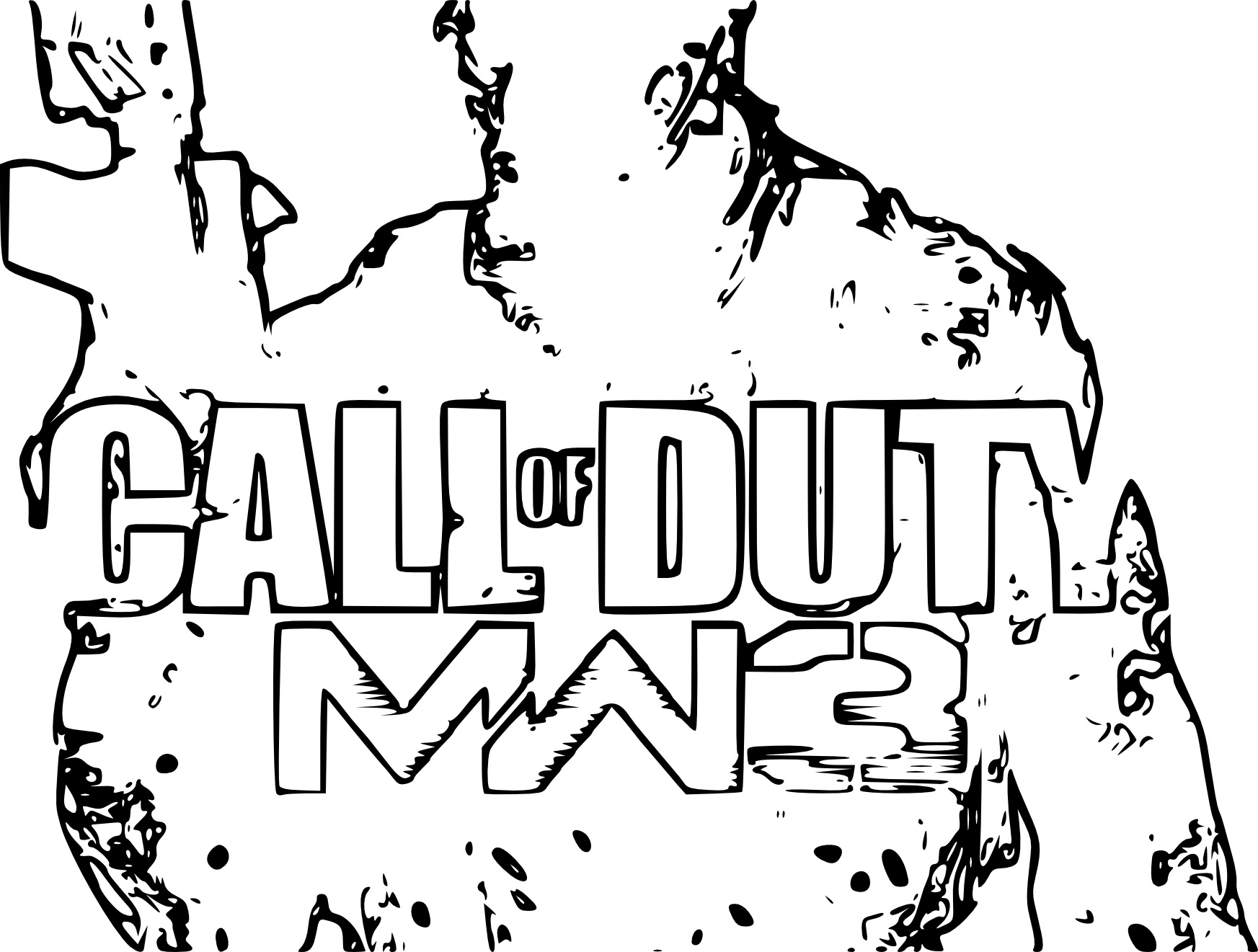 coloring pages call of duty photo 11