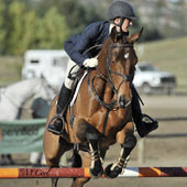 Alexandra Slusher and Last Call finished on the heels of Jennie Brannigan and Cambalda in the CCI3* at the Galway Downs International Three-Day Event on Nov. 4-7.