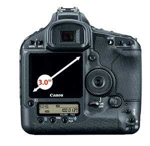 Canon EOS 1Ds digital SLR highlights