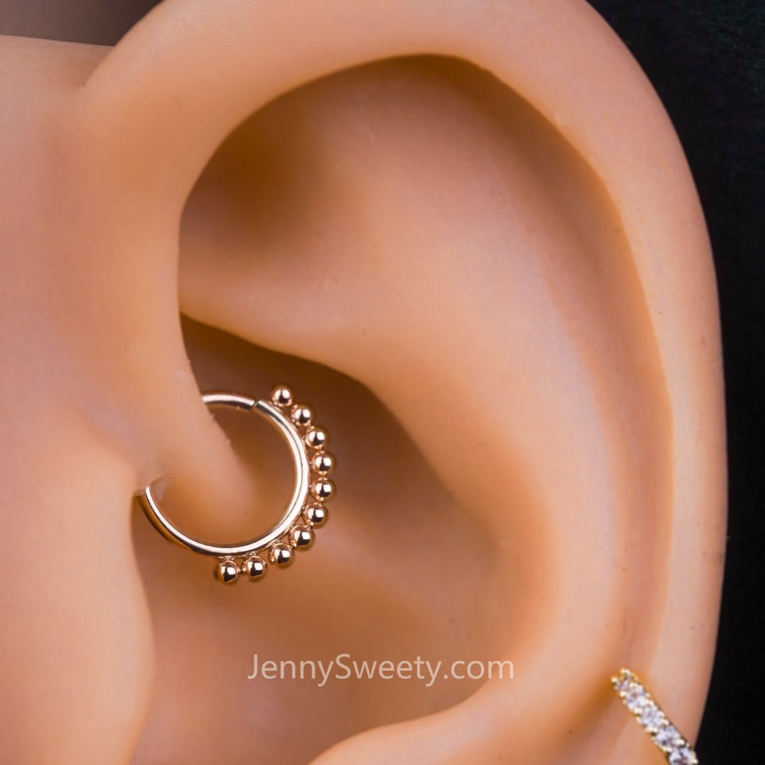 Daith Piercing Tragus Earring Cartilage Piercing Helix Hoop Nose