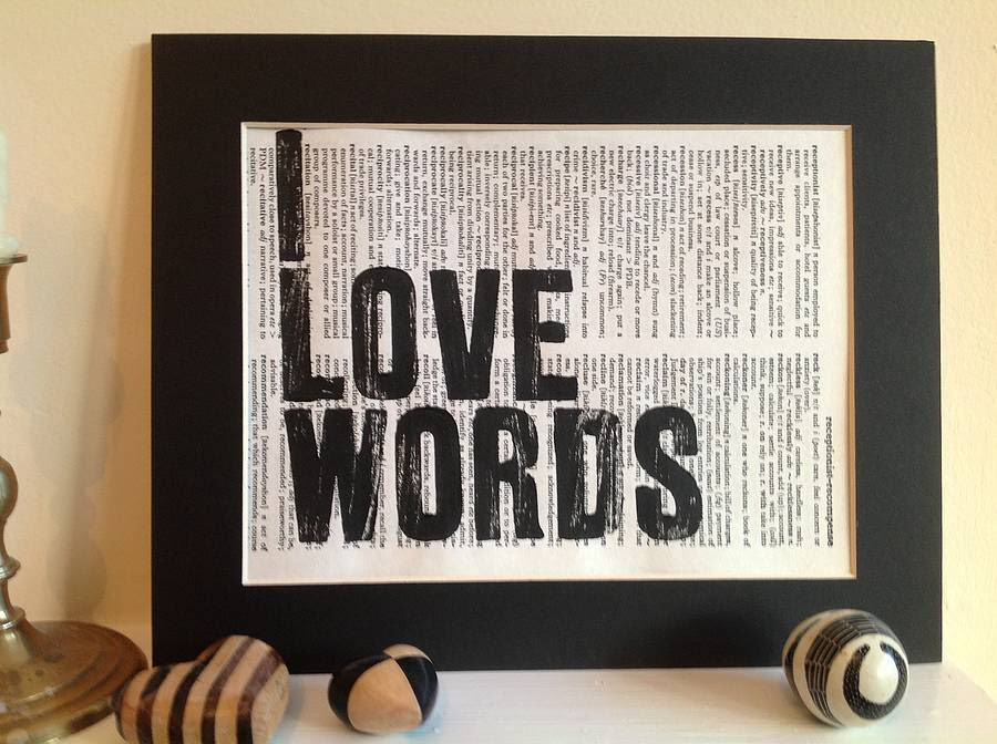 Image result for i love words