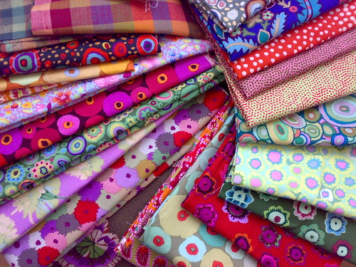 Kaffe Fassett /Rowan fabrics