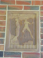Footy Panel, Fawkner Park, Melbourne