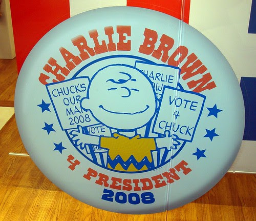 Image result for Charlie Brown for President