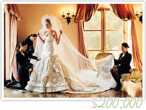 Celebrity weddings   crazy spending & mad extravagance