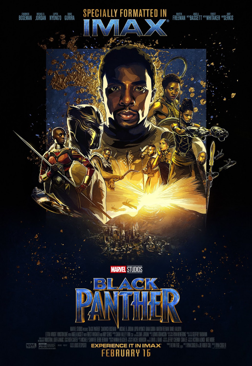 Extra Large Movie Poster Image for Black Panther (#21 of 23)