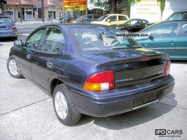 1997 Chrysler NEON 16V 2.0 CLIMATE / WEATHER / ALU / - Car ...