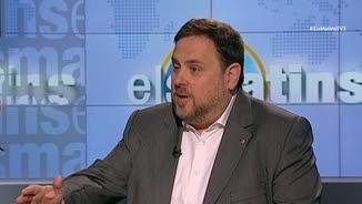 Oriol Junqueras afirma que hi ha pressions internacionals perquè hi hagi acord de govern a l'estat espanyol