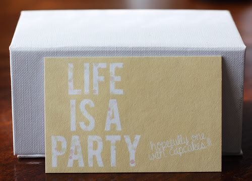 Life Is a Party Card