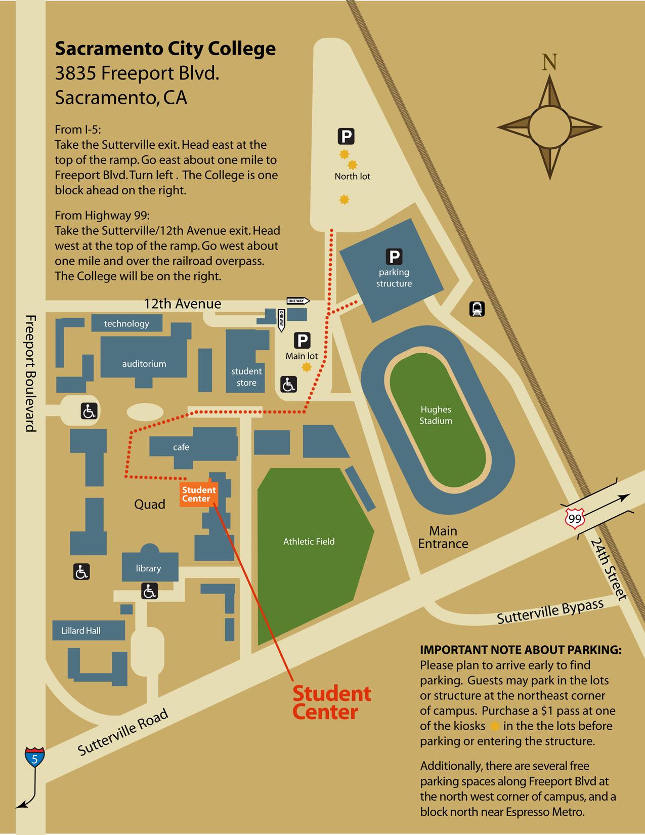 Sac City Campus Map Sacramento City College Map | Gadgets 2018