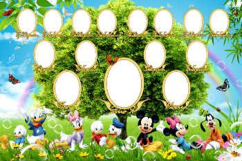 Marcos Para Collage De Foto Online Categoría árbol Genealógico