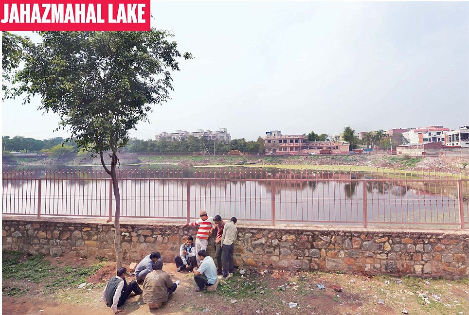 Most lakes in Delhi are rapidly turning into sewage ponds. Rather than doing the needful, various agencies are selling the dry water bodies to private companies