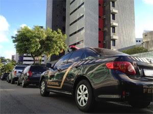 PF fez buscas em bairros de João Pessoa (Foto: Walter Paparazzo/G1)