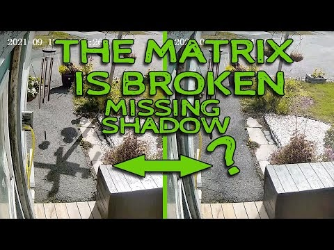 The Matrix is Real - And It Is Broken - Shadow Glitch Caught On Camera