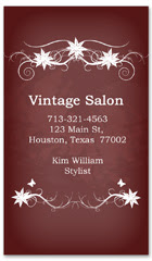 BCS-1129 - salon business card
